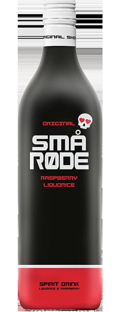 SMÅ Røde - Raspberry Liquorice shot