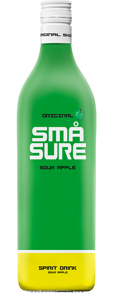 SMÅ Sure Sour Apple shot