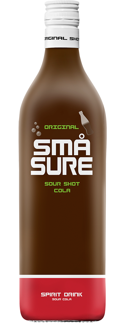 SMÅ Sure Sour Cola shot