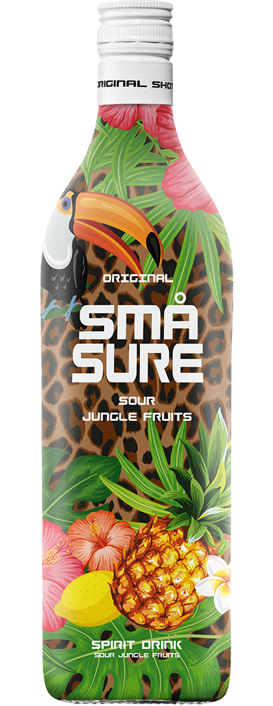 SMÅ Sure Sour Jungle Fruits