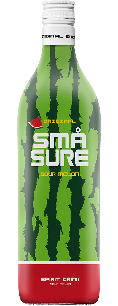 SMÅ Sure Sour Watermelon shot